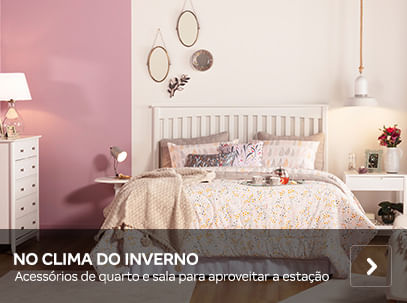 No clima do inverno | Tok&Stok