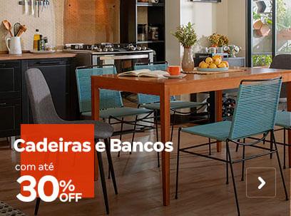 Cadeiras e Bancos com até 30% OFF | Tok&Stok