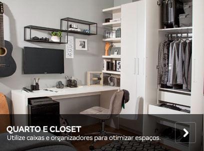 Quarto e Closet | Tok&Stok