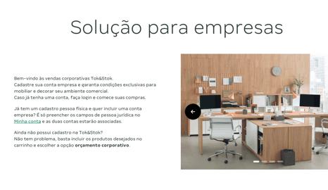 Para empresas - Passo 2