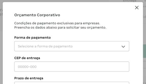 Para empresas - Passo 6