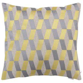 Capa-De-Almofada-40cm-Cinza-amarelo-Losang