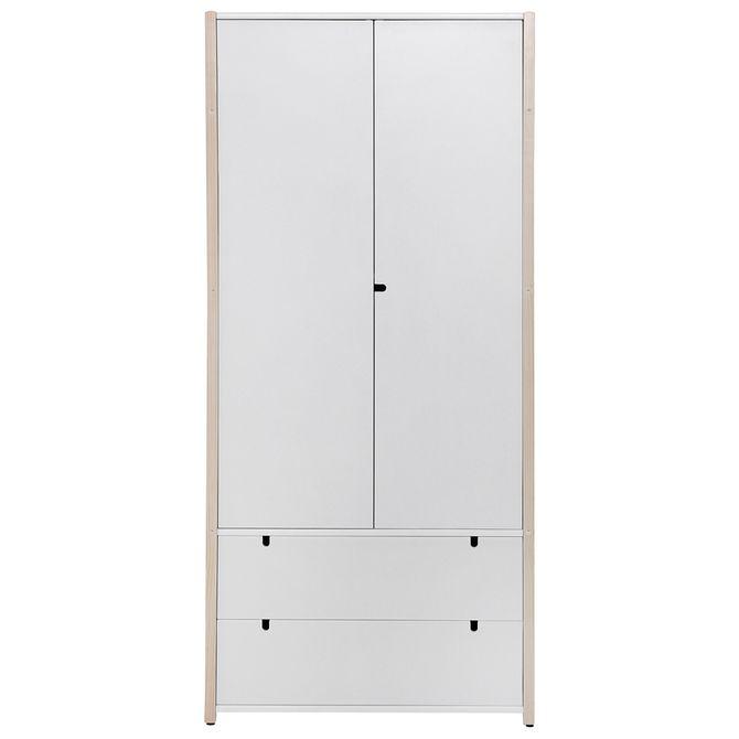 Guarda-roupa-2-Portas-2-Gavetas-Natural-Washed-branco-Pin-Play