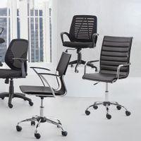 Cadeira-Home-Office-Cromado-preto-Seattle