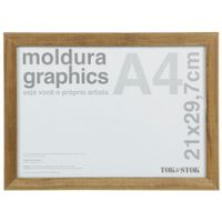 Kit-Moldura-A4-21-Cm-X-29-Cm-Garapa-Graphics