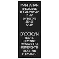 Manhattan-Quadro-53-Cm-X-123-M-Preto-branco-Ny-Signs