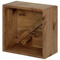Nicho-30x30x16-Castanho-Crates