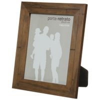 Porta-retrato-20-Cm-X-25-Cm-Castanho-Rustico