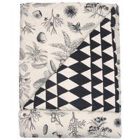 Edredom-Casal-queen-240x250-Cream-preto-Natureza