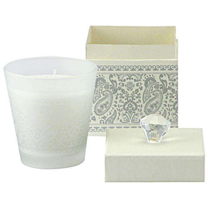 Vela-Perfumada-Pote-9x9-Branco-prata-Paisley