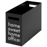 Porta-pasta-Suspensa-Preto-branco-Sweet-Home-Office