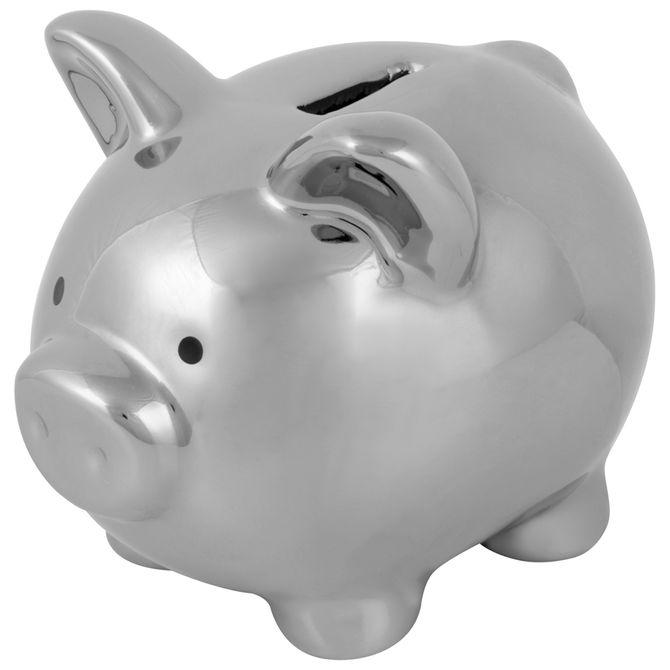Cofre-Mini-11-Cm-Prata-Pig-Rich