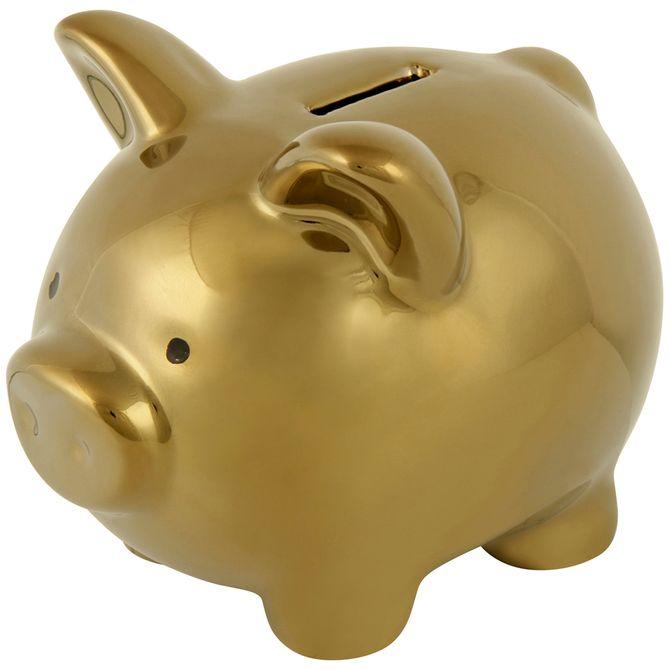 Cofre-Mini-11-Cm-Ouro-Pig-Rich