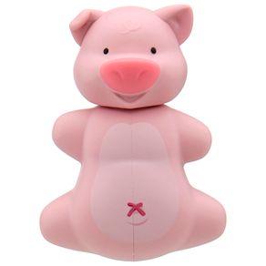 Pig-Porta-escova-De-Dentes-Rosa-Circus