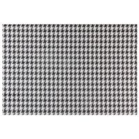 Lugar-Amer-Pl-45-Cm-X-30cm-Preto-branco-Pied-De-Poule