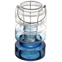 Nautico-Lanterna-23-Cm-Azul-incolor-Amanhecer