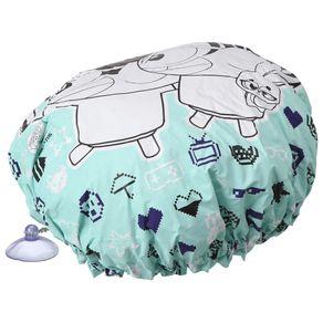 Touca-Banho-C-ventosa-Branco-cores-Caleidocolor-Monica-Toy-Geek