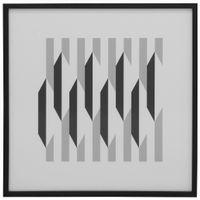 I-Quadro-55-Cm-X-55-Cm-Branco-preto-Geometry