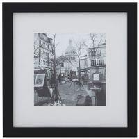 Place-Du-Tertre-Quadro-28-Cm-X-28-Preto-branco-Paris