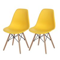 Kit-C-2-Cadeiras-Natural-banana-Eames-Wood