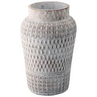 Vaso-Decorativo-30-Cm-Branco-terra-Messara