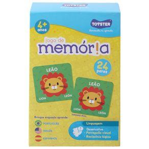 Animais-Jogo-Da-Memoria-C--24-Pcs-Multicor-Jogo-De-Memoria