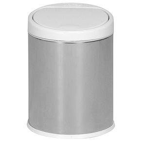Lixeira-Pia-3-L-Inox-branco-One-touch