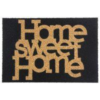 Capacho-40x60-Preto-bege-Home-Sweet-Home