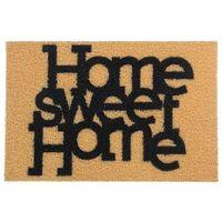 Capacho-40x60-Bege-preto-Home-Sweet-Home