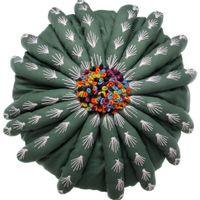 Almofada-Red-30-Verde-multicor-Discocacto-Hostti
