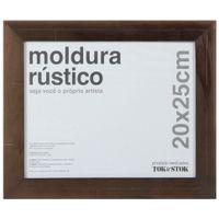 Kit-Moldura-20-Cm-X-25-Cm-Castanho-Rustico