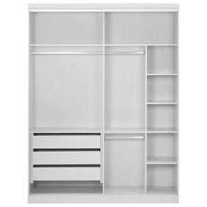Estrutura-Guarda-roupa-2-Portas-Branco-Friz