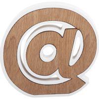 --Adorno-17-Cm-Natural-branco-The-Symbol