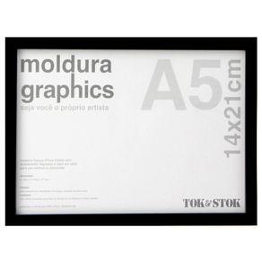 Kit-Moldura-A5-14-Cm-X-21-Cm-Preto-Graphics
