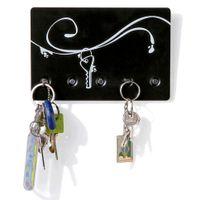 Porta-chaves-Parede-C-5-Imas-Preto-branco-The-Most