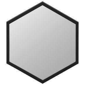 Espelho-50-Cm-X-58-Cm-Preto-Hexagon