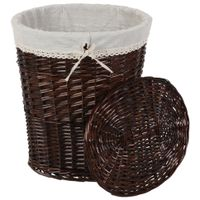 Cesto-P-roupa-45x37x55-Castanho-natural-Wicker