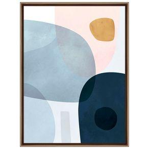 Pastel-Organic-Ii-Quadro-61-Cm-X-81-Cm-Cobre-multicor-Galeria-Site