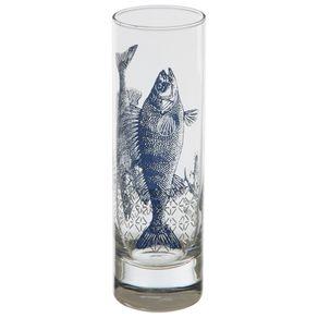 Copo-Long-Drink-300-Ml-Incolor-azul-Escuro-Mar