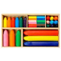 Mega-Kit-Giz-De-Cera-33-Pcs-Multicor-Colori