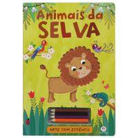 Livro-Animais-Da-Selva-Multicor-Livro-Infantil