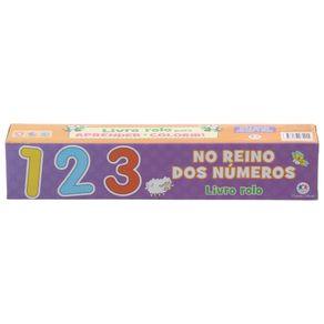 Livro-Rolo-No-Reino-Dos-Numeros-Multicor-Livro-Infantil