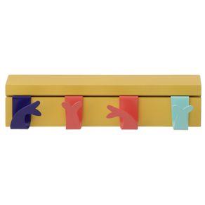 Cabide-Parede-C--4-Ganchos-Banana-cores-Caleidocolor-Tchibum