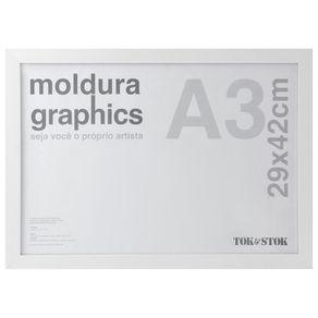 Kit-Moldura-A3-29-Cm-X-42-Cm-Branco-Graphics