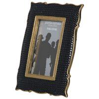 Porta-retrato-10-Cm-X-15-Cm-Preto-ouro-Gallery