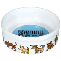 Comedouro-Para-Pet-Branco-multicor-Beautiful-Dogs