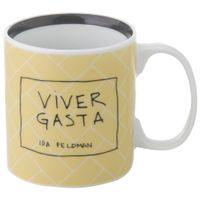 Ida---Viver-Gasta-Caneca-330-Ml-Amarelo-preto-Reflexoes-Da-Ida-Feldman