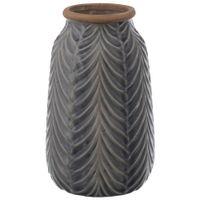 Vaso-Decorativo-24-Cm-Azul-natural-Marolas
