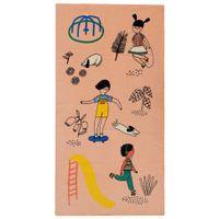 Vamos-Brincar-Toalha-Banho-140x170-Salmao-multicolor-Vamos-Brincar-De-Que-