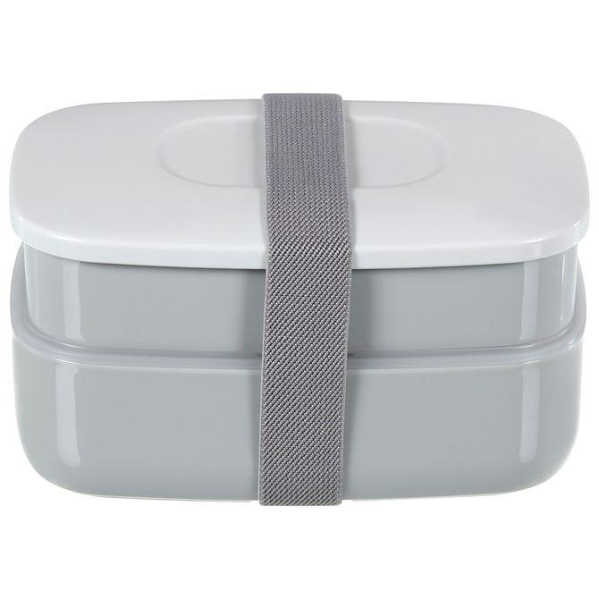 Kit-Porta-refeicao-6pcs-Cinza-branco-Lunchbox